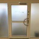 Fönsterdekor frostfilm etch