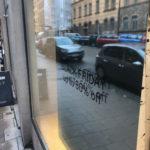 spegelfolie systemtext fönsterdekor